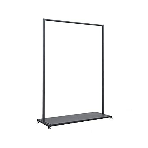 ZY-XSP Abbigliamento in Ferro Scaffale/Display con Porta Scarpiera, Adatto per Riporre i Vestiti/Scarpe/Scatola Di Immagazzinaggio, 160 cm in Alto,150X40X160Cm.