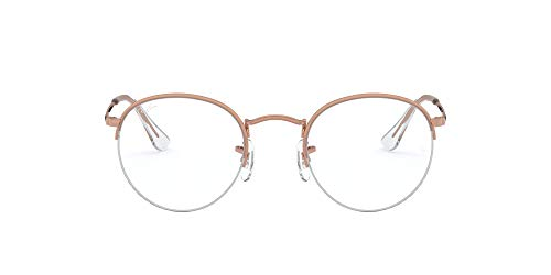 Ray-Ban 0RX3947V, Unisex Adulto, Rose Gold, 51