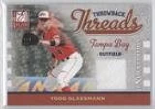 Todd Glaesmann #100/250 (Baseball Card) 2009 Donruss Elite Extra Edition - Throwback Threads #TT-TG