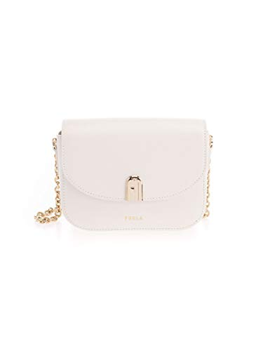 FURLA Luxury Fashion Donna 1060031 Bianco Borsa A Spalla  