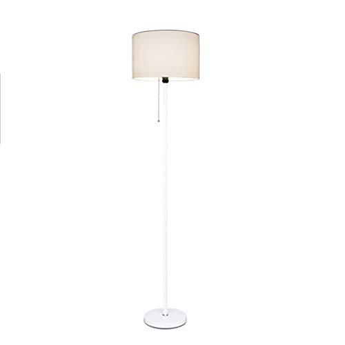 QTDH Klassieke dimbare led-vloerlamp vloerlamp Nordic lezen rechts vloerlamp voor woonkamer, slaapkamer, kantoor, woonkamer - energiebesparing