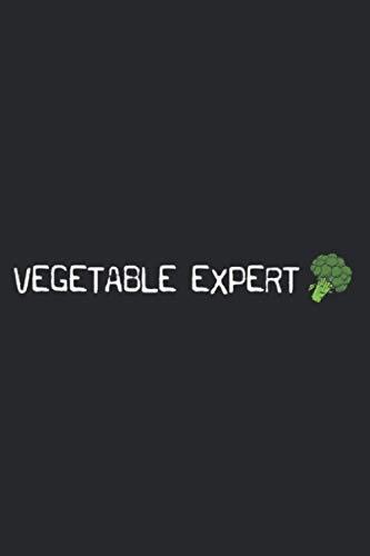 Healthy Vegan Vegetarian Vegetable Expert Broccoli: Daily NoteBooks - A5 size, High...