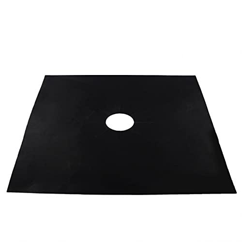 Almohadilla Protectora De Estufa De Gas, Protector De Estufa De Gas Protectores De Cocina De Gas Cubiertas Superiores Antiadherente Apto Para Lavavajillas(negro)