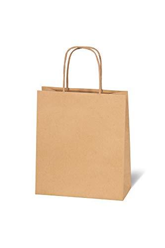 BSB Geschenktasche Geschenktüte Papiertüte Papiertasche aus braunem Kraftpapier (groß), 684010