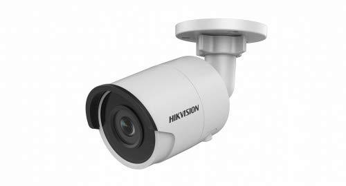 Hikvision Digital Technology DS-2CD2085FWD-I IP-Kamera, Decken/Wand, 3840 x 2160 Pixel, Überwachungskamera (IP Sicherheitskamera, Bala, Decke/Wand, weiß, IP67)