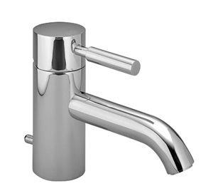 Waschtisch-Einhebelmischer, META.02 33.551.625. für offene Heißwasserb. 125mm chrom, 3355, Dornbrach