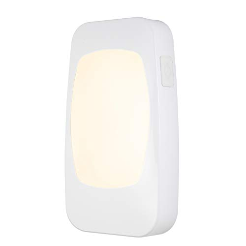 Energizer 4-in-1 LED Power Failure Night Light, Plug-in, Dusk-to-Dawn Sensor, Foldable Plug, Great for Elderly, Emergency Flashlight, Tabletop, Tornado, Hurricane, Storm, Blackout, 38511