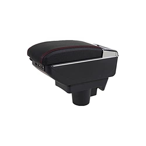 Reposabrazos del coche Ajuste para Opel Astra Bozot Box Opel Astra H Double Layer Coche Caja de almacenamiento Central Armrest USB Titular de la taza de carga accesorios de cenicero Accesorios para ap
