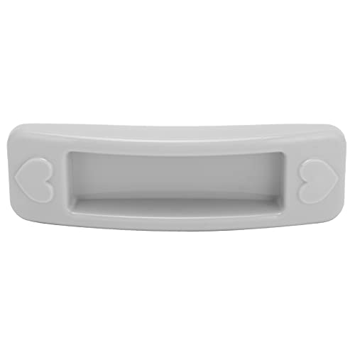 Tirador de cajón gris, tirador de puerta corrediza de vidrio sin taladro, tirador de plástico en pasta para armario, ventana, armario, armario, cocina