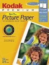Kodak 1490622 5in X 7in Borderless Inkjet Photo Paper