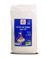 Celnat Farine de seigle bio type 130 1 KG