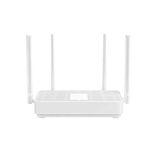 QPALZM Wi-Fi Dual-Band Router inalámbrico Gigabit,4 Puertos Ethernet,4X 5dBi Antenas,Router WiFi Inteligente de Largo Alcance, MU-MIMO, procesador de 28nm, fácil de configurar