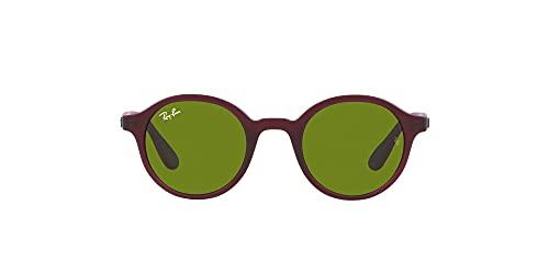 Ray-Ban 0RJ9161S-7087/2-41, Gafas Hombre, Matte Transparent Fuxia, 50 W/34 L