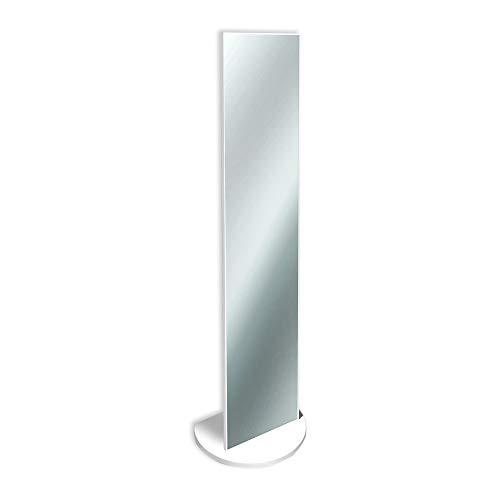 Espejo de pie Elegante, 40x 160cm, Color Blanco