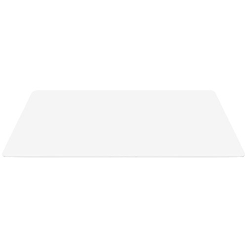 Best Choice Products 59x47in PVC Multi-Purpose Chair Floor Mat Hardwood Protector for Scratch, Scuff, Marking Protection, Clear