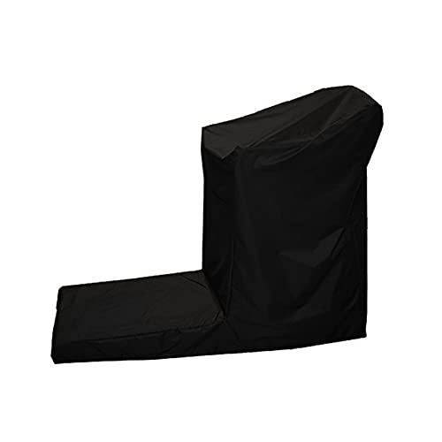 XHDZSW Caminadora Cubierta, Cubierta Impermeable para Cinta De Correr para Almacenamiento Exterior,Tejido Oxford 210D para Interiores O Exterioresresistente Los Rayos UV Negro (165 x 76 x 140 cm)