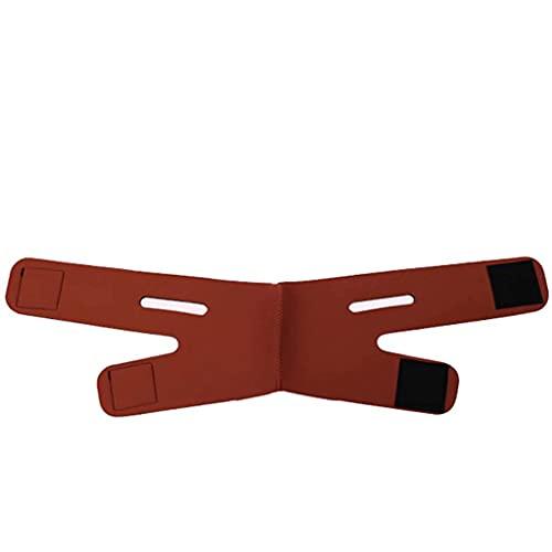 FENGFENGGUO Correa de Barbilla de compresión Reductor de mentón Doble Cinturón Antiarrugas Mantener Joven Elimina la flacidez Lifting de Piel Reafirmante Antienvejecimiento