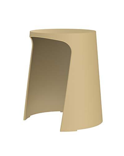 Sellex Taburete de diseño y apilable Handy Marrón Camel