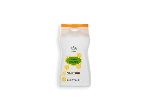 Turmeric-Cucumber Face Mask - Peel Off - Mask- World's First Turmeric Peel - Ayurveda - New Generation Ayurveda- Pore Cleanser- Skincare