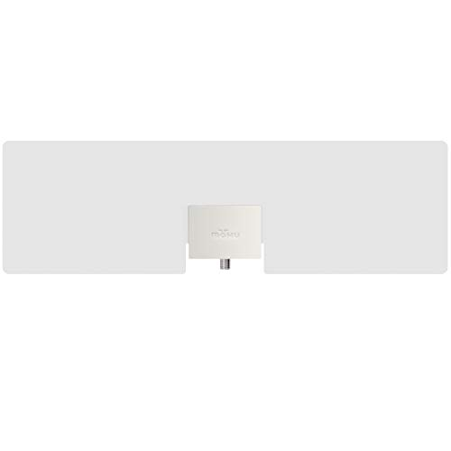 Mohu Leaf Metro TV Antenna, Indoor, Portable, 25 Mile Range, Original Paper-thin, Reversible, Paintable, 4K-Ready HDTV, 10 Foot Detachable Cable, Premium Materials for Performance, USA Made, MH-110543