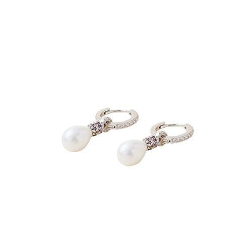 MAYL Baroque Freshwater Pearl Stud Earrings Elegant drop-shaped pearl earrings (2021 New)