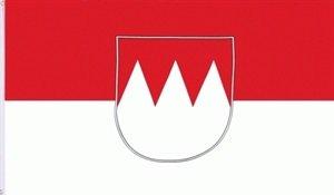 Fahne Franken Rot-Weiss Grösse 2,50x1,50m XXL - FRIP –Versand®