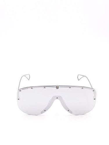 Gafas de sol Gucci Hombre GG0667S002 de metal plateado | Primavera Verano 20