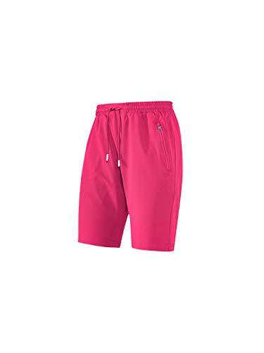 Joy Sportswear Sporthose Romy für Damen mit Komfortbund und Reißverschlusstaschen, ideal für Sport und Freizeit Normalgröße, 44, Himbeere dunkel