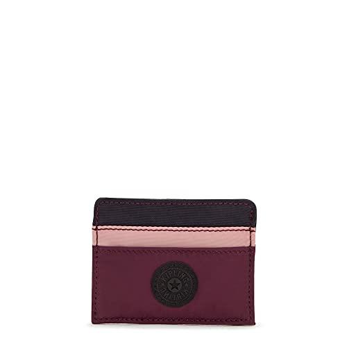 Kipling Cardy Card Holder Noisy Purple Bl
