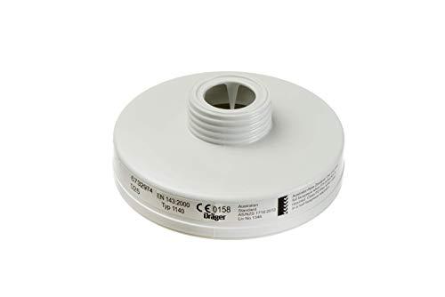 Dräger X-plore Rd40 Partikel-Filter 1140 P3 R für Aerosole/Partikel | 3 STK. | Ersatzfilter für Voll- und Halbmasken X-plore 4740 und 6300