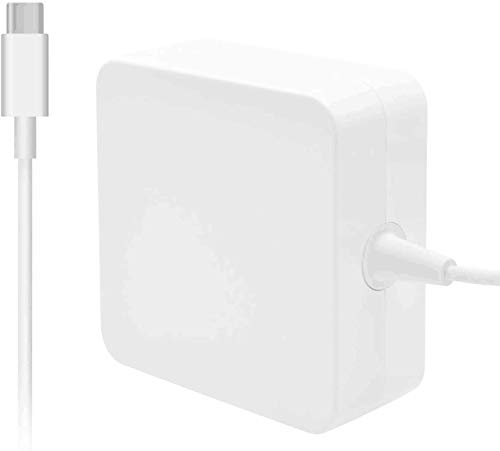 Replacement MacBook Pro Charger 87W, AC Type C Power Adapter Charger USB-C Cable Compatible with Mac Book Pro 15 Inch 13 Inch/MacBook Air 13 Inch by Uflatek