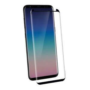ValmoniSport Protector Pantalla para Samsung Galaxy S9 + Plus Cristal Templado Curvo 3D Negro Pro Curved Curva Protector Glass Tempered Full Glue Black