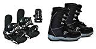 Symbolic Black Dragon X-Ion Snowboard Boots Bindings Package Kids Youth