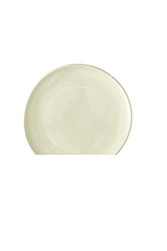 Rosenthal - Junto - Alabaster - Teller/Kuchenteller/Frühstücksteller - Porzellan - flach - Ø 22 cm