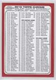 2010 topps chrome checklist