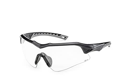 SOLID. Shooting Glasses with Ballistic Impact Protection | Safety Glasses with Anti-Fog, Scratch- and UV-Protective Lenses