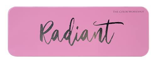 Essentials Radiant - Colorete, Rubor - Paleta de Blush con 4 Colores, Colorete Mate y Perlado y una Brocha Facial - Set de Maquillaje Profesional - California Collection - Maquillaje para Mujeres