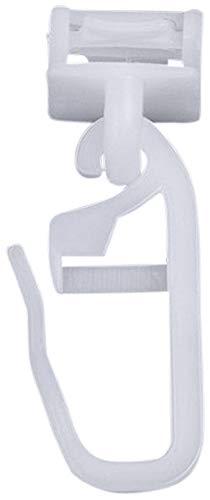 rewagi - Hochwertige - klick Fix Gardinengleiter Laufnut/Spurbreite 6-6,5 mm – 50,70,90,110,130,150,170,190,210 Stück (50 Stück)