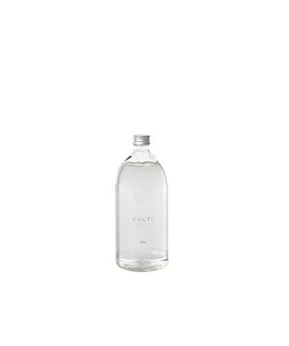 Ricarica diffusore bastoncini da 1000 ml | Culti Milano | Fragranza ARIA, al pitosforo e sandalo - Durata 4 mesi - Metratura da 40 a 60 mq