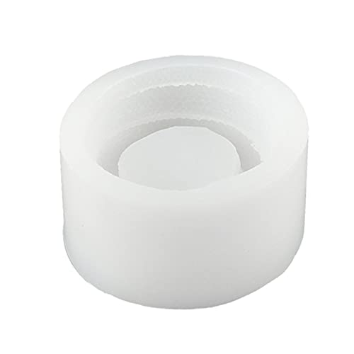 Linda forma de serpiente molde de silicona titular de la vela molde DIY resina epoxi fundición manualidades cemento decoraciones molde de silicona