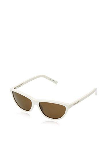 Yves Saint Laurent Sonnenbrille SL 70 Cateye Sonnenbrille 57, Weiß