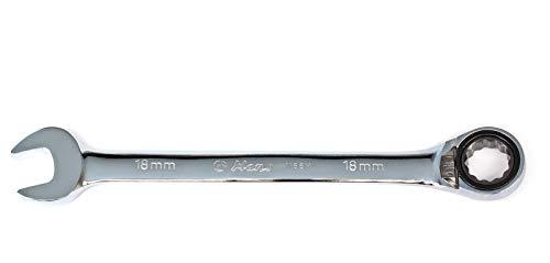 Hans Maul-Ring-Ratschenschlüssel umschaltbar, 15° abgewinkelt, 12 mm