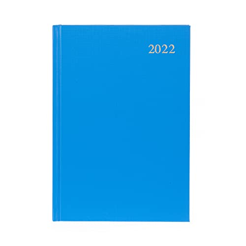 Collins Essential A5 Week to View 2022 Diary – Light Blue