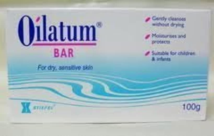 正当な画家パンダ6 packs of Oilatum Bar Soap Low Price Free Shipping 100g by Oilatum
