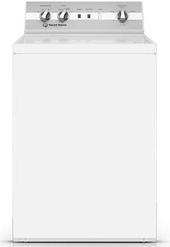 Speed Queen DC5000WG 27 Inch Gas Dryer with 7 cu. ft. Capacity, 4 Dry Cycles, 4 Temperature Settings, 3 Year Parts and Labor in White