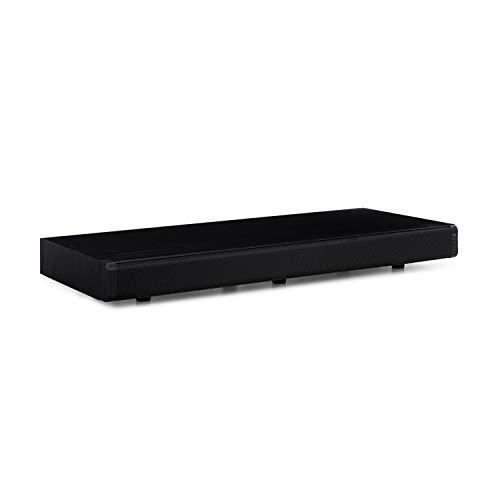 auna Stealth Bar 60 2.1 Soundbar (Bluetooth, USB-Port, HDMI, 40 Watt RMS, Optical-, AUX-Eingang, für TV-Geräte, mit Fernbedienung) pianoschwarz