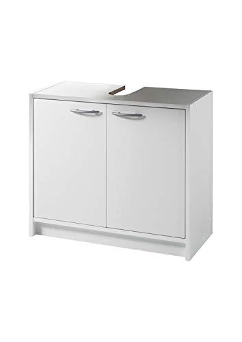 Waschbeckenunterschrank | Weiß | mit 2 Türen