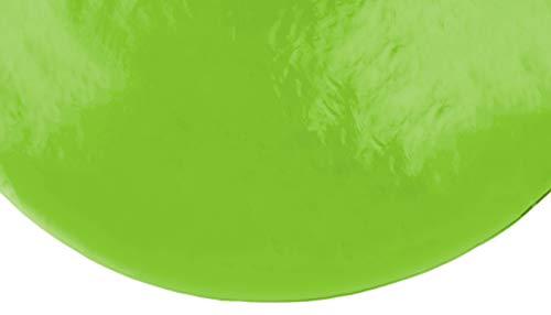 Brandsseller Gartentischdecke Lacktischdecke Tischdecke Hochglanzversiegelt Wetterfest Terrasse Balkon Camping - Größe: Rund 160 Ø Farbe: Hellgrün