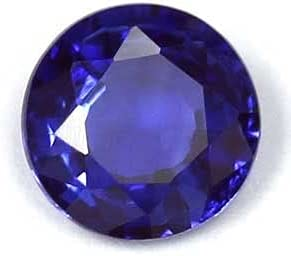 GemsNY 0.88 Carat OFFicial store Natural Round Blue Today's only Sapphire