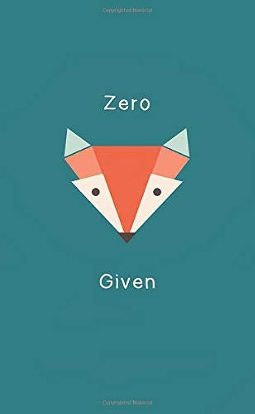 Zero Given: 2019-2020 Monthly Pocket Planner Calendar | Zero Fox Given (Feeling Foxy)